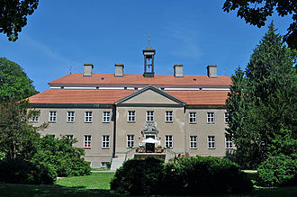 Carl Gustav Rehnskiöld - Castle of Griebenow. Built between 1707 and 1709.
