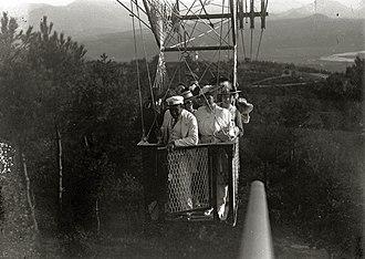 Leonardo Torres y Quevedo - Cable car in Ulia (1916)