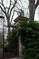 Gryphon guarding entrance to Gray's Inn Gardens (The Walks)-6977378312.jpg