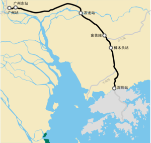 Guangshen Railway map.png