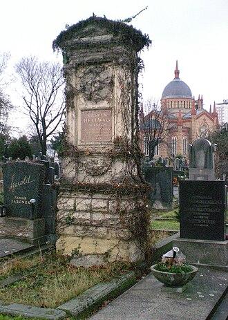 Matzleinsdorf Protestant Cemetery - Image: Guenther Z 2010 01 02 4026 Evangelischer Friedhof Wilhelm Hellwag