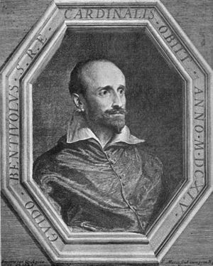 Guido Bentivoglio - Guido Bentivoglio painted by Anthony Van Dyck and engraved by Jean Morin