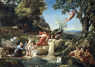 1812 in art - Image: Guillaume Guillon Lethière The Judgment of Paris