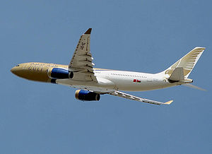 Flight control modes - A330-200 in flight