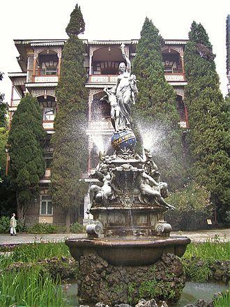 Gurzuf - Image: Gurzuf Fountain