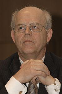 Gustav Bjorkstrand, ordforande for Nordiskt universitetssamarbete (NUS) under tematotet i Helsingfors 2004.jpg