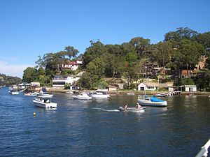 Gymea Bay - The bay of Gymea Bay