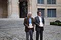 Hédi Kaddour et Boualem Sansal - Académie française - Grand Prix du Roman (22609250915).jpg
