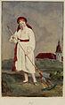 Höstflicka från Herrestad i Skåne. Världsutställningen i Paris 1867 - Nordiska Museet - NMA.0042852.jpg