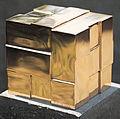 H-Würfel, 1987, Bronze poliert, 15 x 15 x 15 cm.jpg