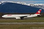 "HB-JHE Airbus A330-343X A333 - SWR ""Fribourg"" (24303836572).jpg"