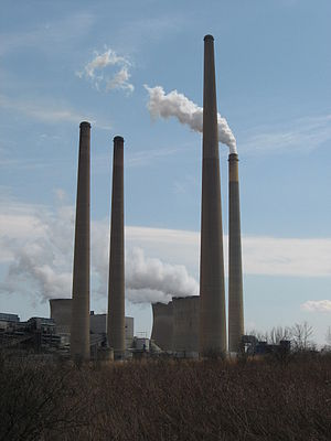 Homer City Generating Station - Image: HC Generating Towers