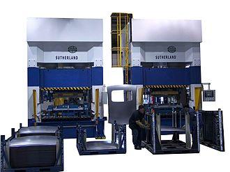 Hydraulic press - Automotive Hydraulic Sunroof Production