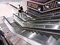 HK 金鐘 Admiralty 太古廣場 Pacific Place night escalators May 2019 SSG 01.jpg