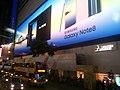 HK 銅鑼灣 CWB 軒尼詩道 Hennessy Road night 東角中心 East Point Centre 戶外廣告 outdoor ads sign Samsung Galaxy Note8 October 2017 Lnv2 02.jpg