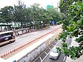 HK CWB 銅鑼灣 Causeway Bay 高士威道 Causeway Road footbridge view Sunday June 2019 SSG 08.jpg
