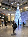 HK Central Landmark mall interior evening 03 Christmas decoration Dec-2012.JPG