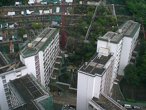 Sai Wan Estate - Sai Wan Estate bird's eye view
