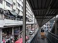 HK Kwun Tong Road 觀塘道 Yue Wah Mansion Minibus Stop 小巴站 near Yue Man Square footbridge.JPG