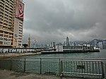 HK TST Harbour City piers view Star Ferry Piers n Star House Mar-2013.JPG