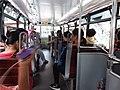 HK tram tour upper deck interior visitors August 2019 SSG 01.jpg