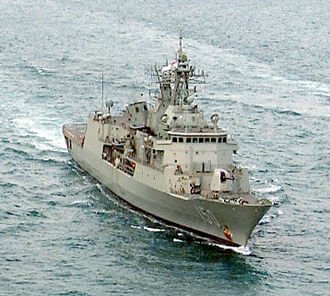 Tenix Defence - HMAS Anzac operating in support of Operation Enduring Freedom.