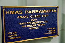 HMAS Parramatta (FFH 154) - WikiVisually