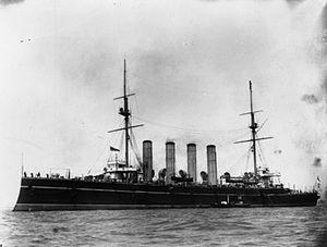 HMS Europa (1897) - Image: HMS Europa