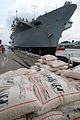 HMS Illustrious Picking up Humanitarian Aid for the Philippines MOD 45156478.jpg