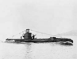 HMS Sea Rover (P218) im August 1943