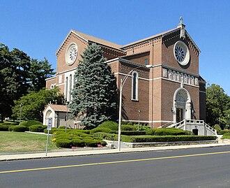 Holy Name Church (West Roxbury, Massachusetts) - Image: HOLY NAME West Roxbury