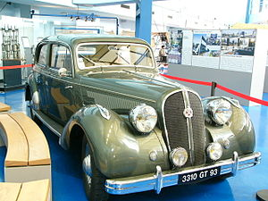 Hotchkiss (car) - Hotchkiss 686 produced from 1936 to 1952