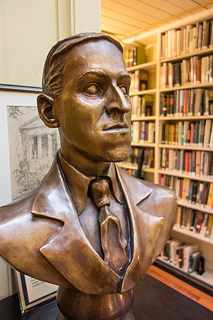 Providence Athenaeum - Image: HP Lovecraft bust