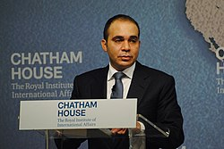 HRH Prince Ali Bin Al Hussein, FIFA Executive Committee Member, (2011-15); FIFA Presidential Candidate, May 2015 Election (21492167035).jpg