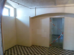 Leonardo Conti - Gas chamber for disabled patients in Hadamar Euthanasia Centre