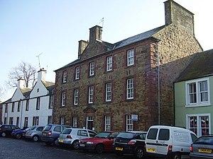 Scottish education in the eighteenth century - The New Grammar School in Haddington, opened in 1755
