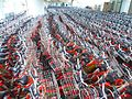 Haikou bicycle rental - thousands of bicycles in storage - 01.jpg
