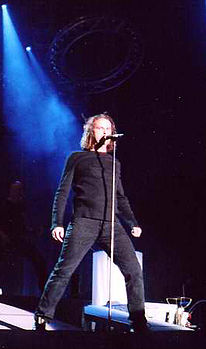 Hansi Kürsch al Blind Guardian Open Air di Coburgo (2003)