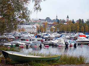 South Karelia - Image: Harbour autumn