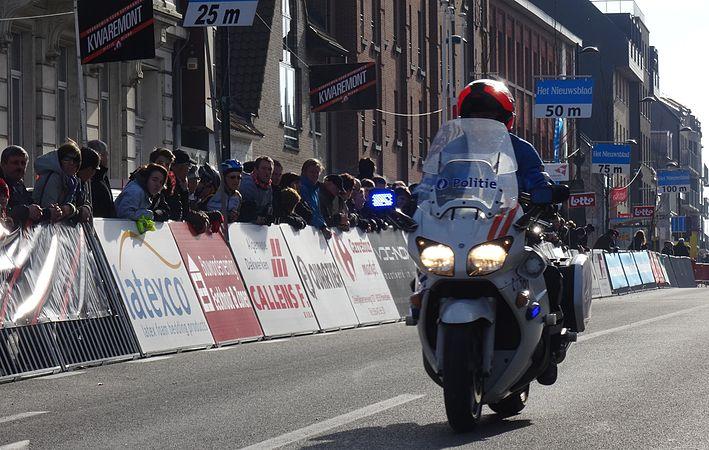 Harelbeke - Driedaagse van West-Vlaanderen, etappe 1, 7 maart 2015, aankomst (A14).JPG