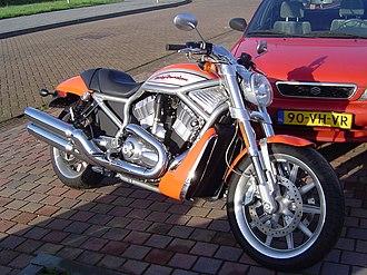 Harley-Davidson VRSC - Image: Harley Davidson VRSCA V Rod