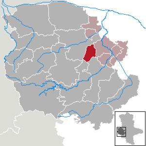 Harsleben - Image: Harsleben in HZ
