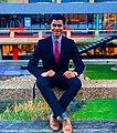 Hassam Bin Kamran at Erasmus University Rotterdam.jpg
