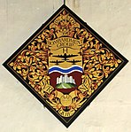 Hatchment commemorating the 390 Bombardment Group, St Michaels, Framlingham.jpg