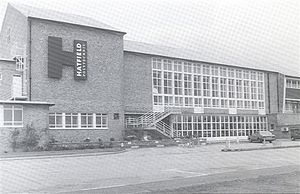 University of Hertfordshire - Hatfield Polytechnic ca 1969