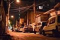 Hatserim road at night, Tel Aviv.JPG