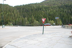 The crossroads at Haukeli