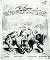 Having Their Fling - anti-war cartoon by Art Young, 1917.jpg