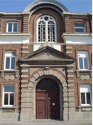 Hazebrouck - The entrance of the chapel