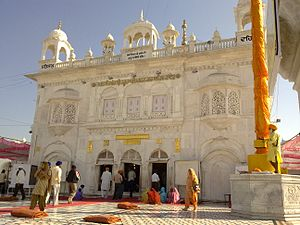 Nanded district - Hazur Sahib - The world-famous Sikh shrine is located in the Nanded city.
